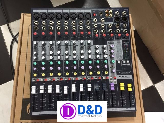 ban mixer soundcraft efx88888